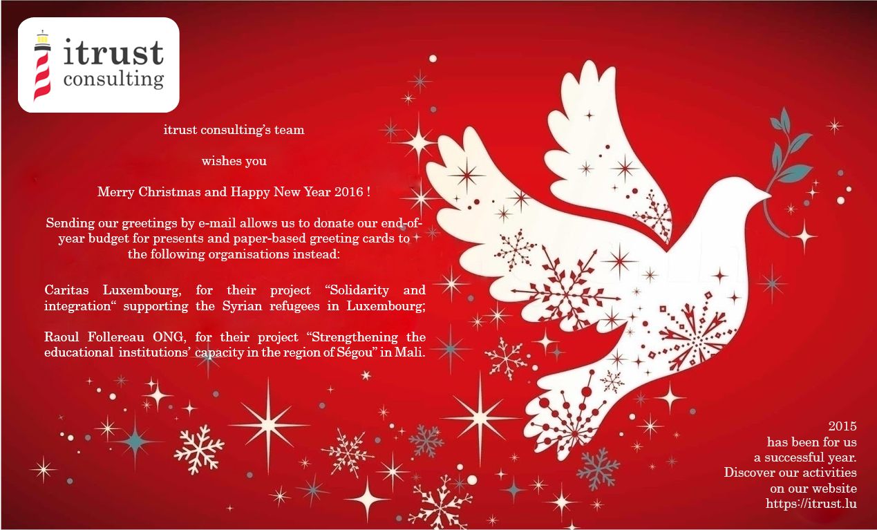 itrust consulting christmascard 2015-2016
