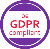 be GDPR compliant Logo